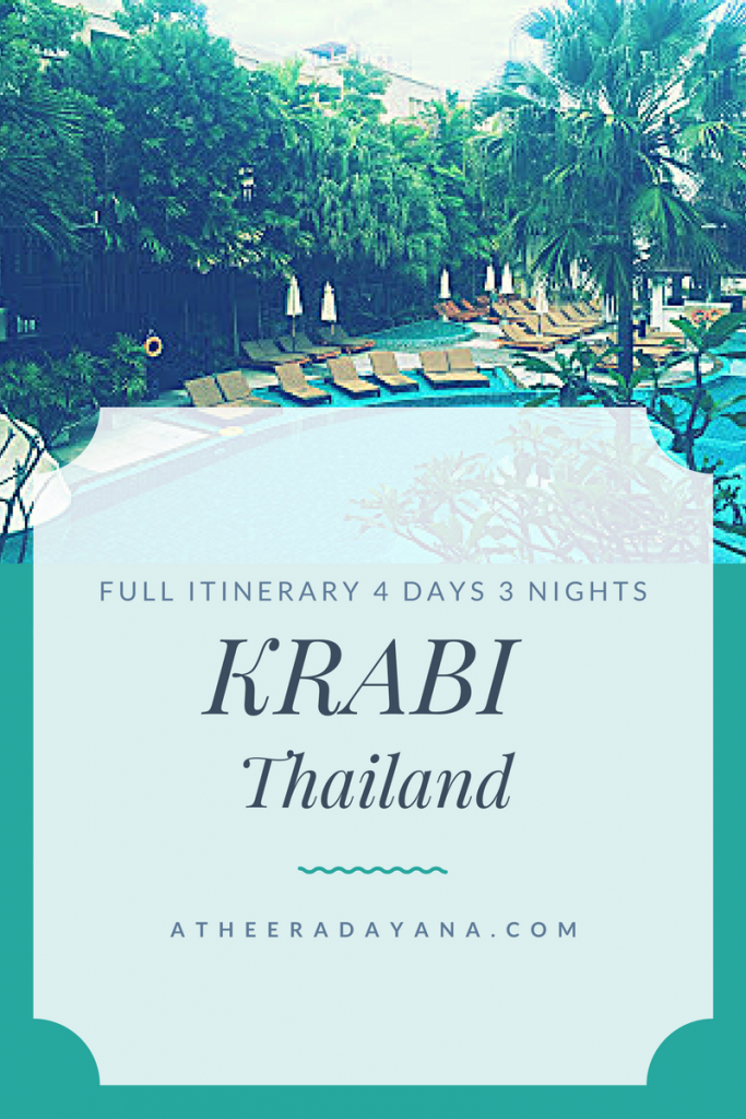 Trip to Krabi Full Itinerary