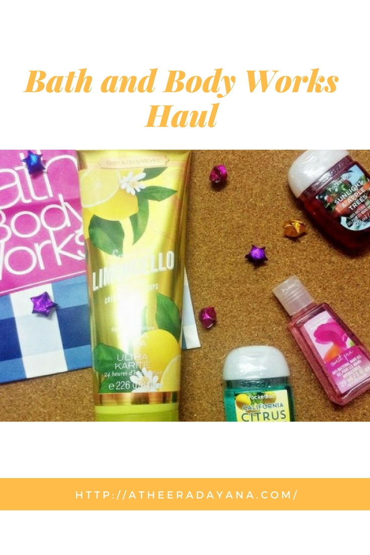 I am a fan of Bath and Body Works. I love each of their collection and I will grab something for my collection. Lets take a look on what I bought this time.
