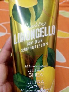 Bath and Body Works Body Butter Limencello