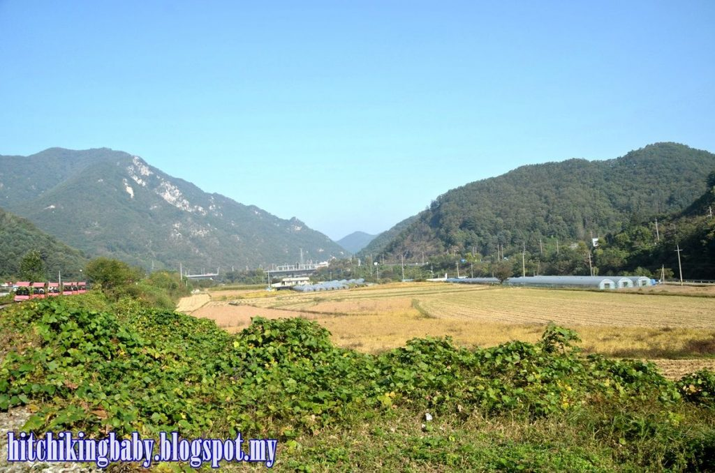 South Korea Trip - Scenery at Gangchon Rail Park