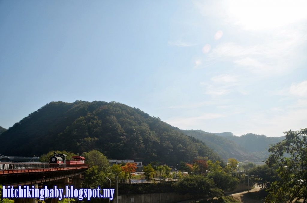 South Korea Trip - Scenery at Gangchon Railpark