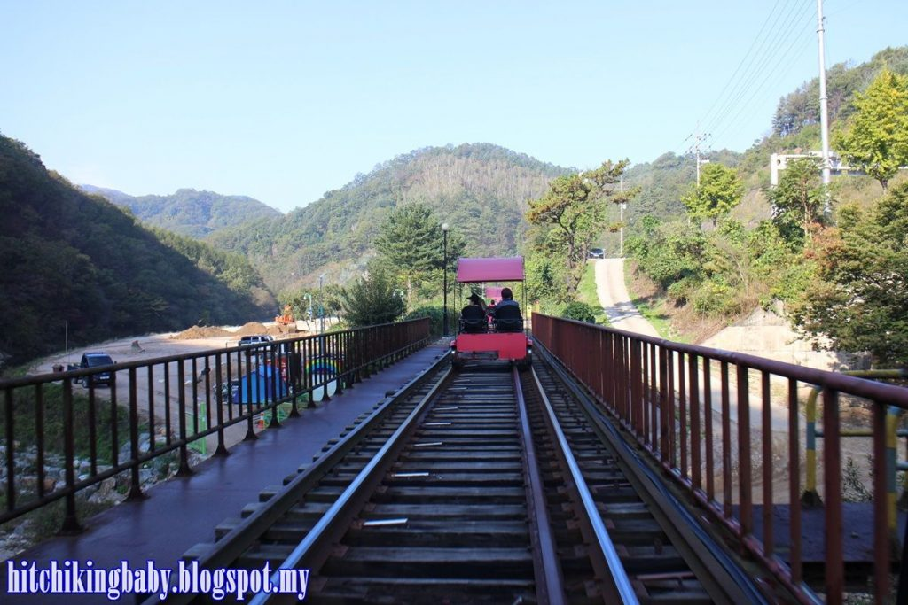 South Korea Trip - Railbike Starting