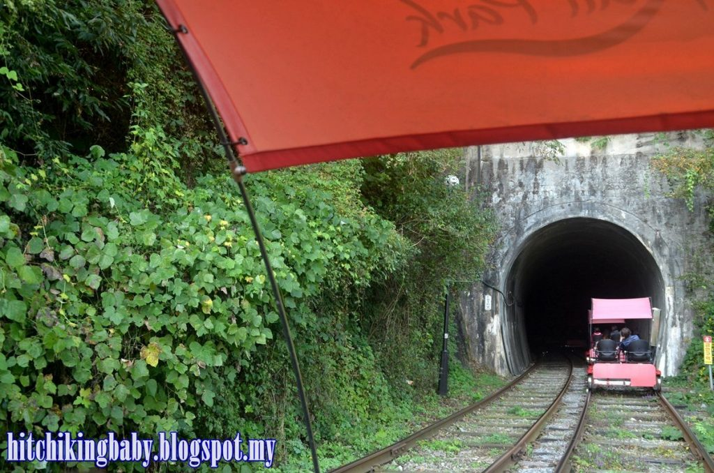South Korea Trip - Tunnel in Gangchon Railbike
