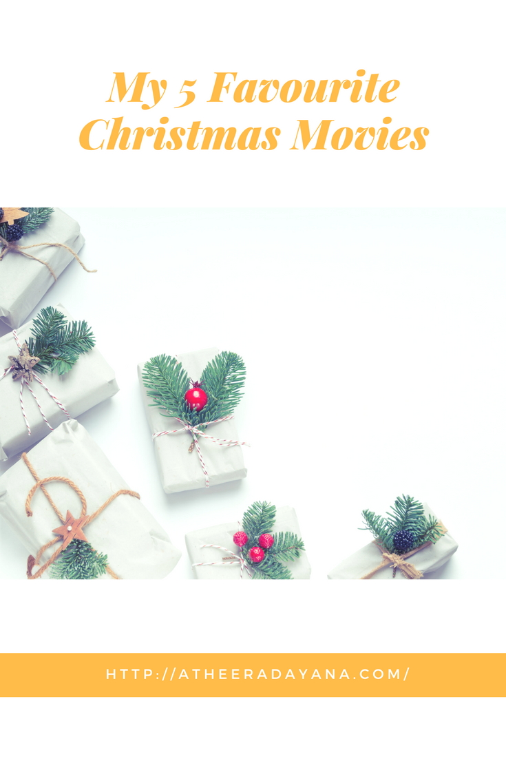 My 5 Favourite Christmas Movies