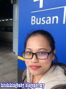 Arriving Busan