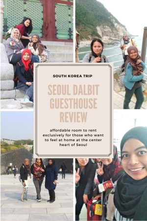 Deciding where to stay in Seoul? If you want a good service and comfy stay, this is my recommendation. Read my full review of Seoul Dalbit Guesthouse.