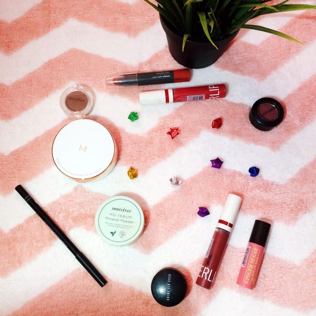 bb-cushion-listick-eyeshadow-eyeliner-loose-powder
