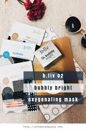 b.liv O2 Bubbly Bright Oxygenating Mask