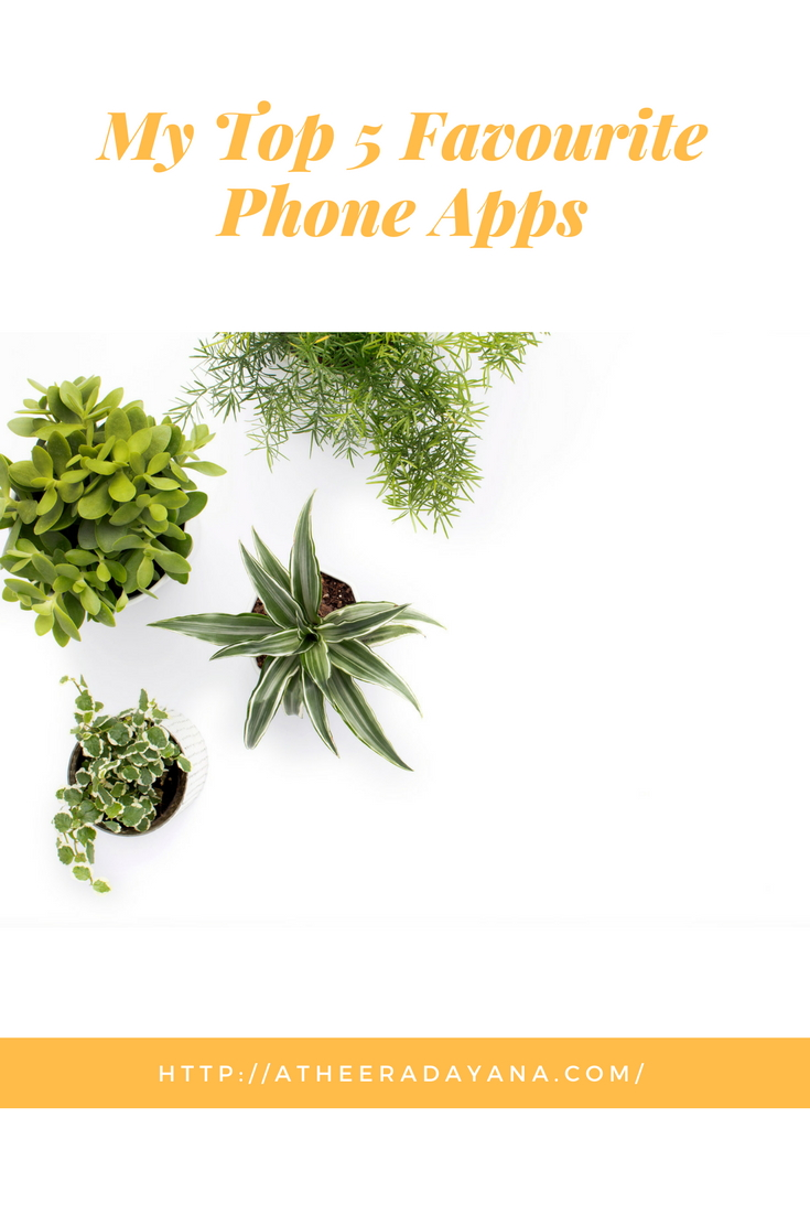 My Top 5 Favourite Phone Apps