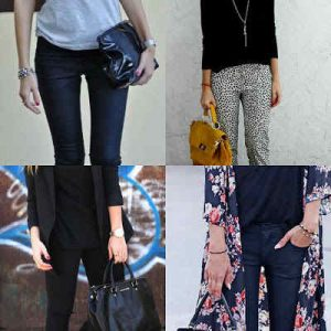 How to Rock Black Top and Black Pants