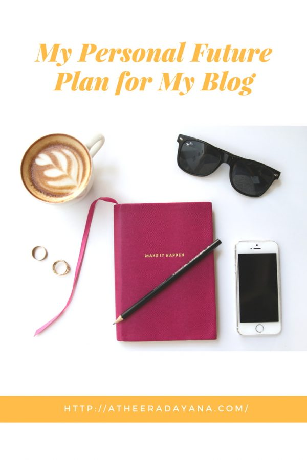 I have gathered some personal future plan for my blog that I would like to achieve so that I will have a more organize blog and here let me share with all of you.