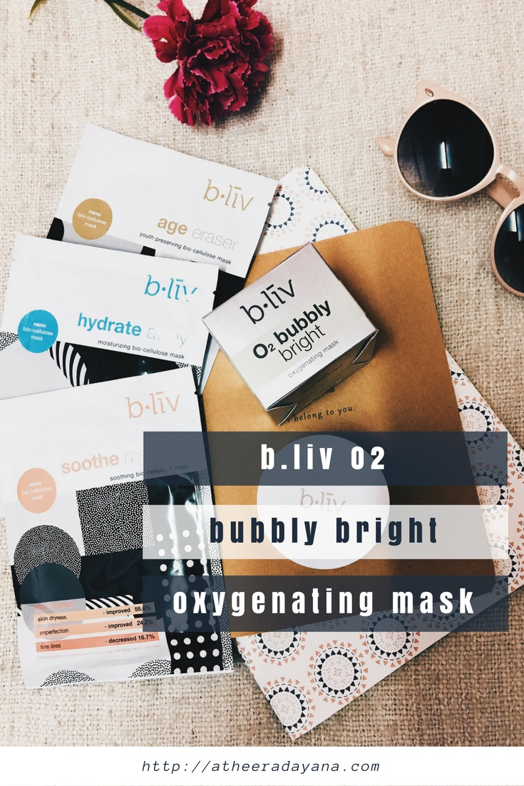 Healthy Pores and Healthy Skin with B.liv O2 Bubbly Bright