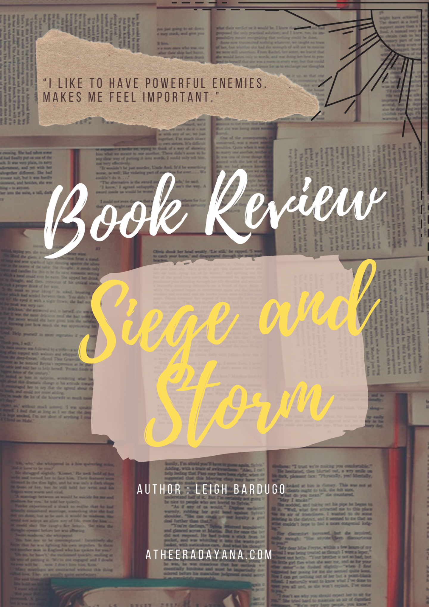 Book Review – Siege and Storm